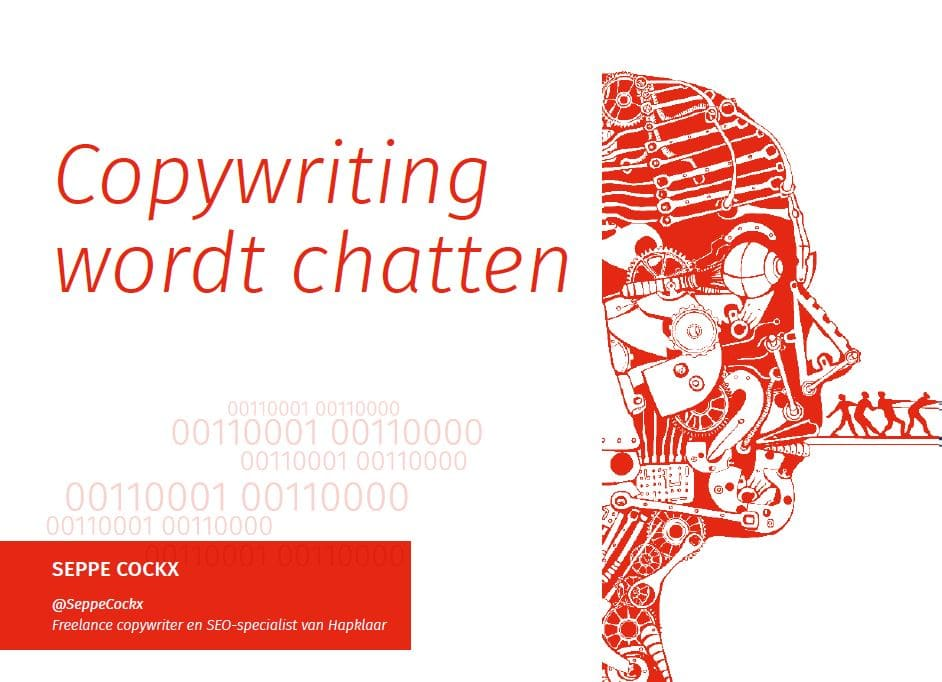 Copywriting wordt chatten