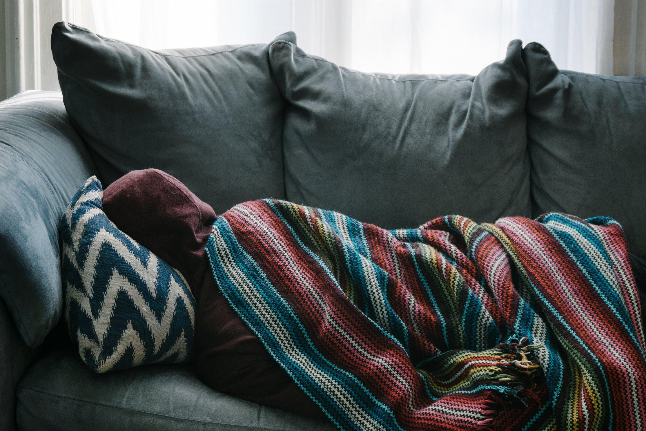 slapen in zetel